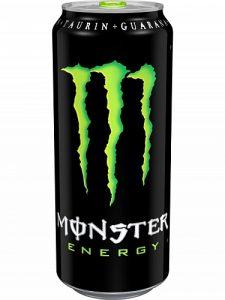 Monster plechovka