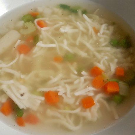 Slepačia polievka
